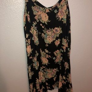 "Floral ""sweetheart"" dress from brandy Melville"